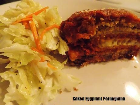 healthy eggplant parmigiana recipe