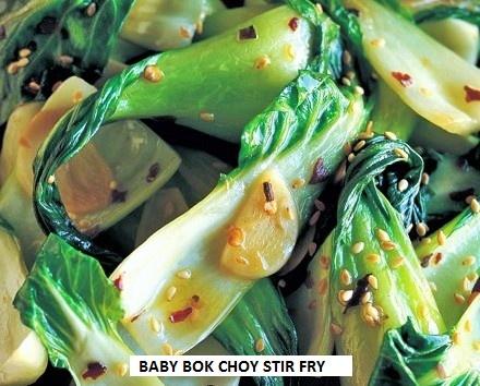 Baby Bok Choy Stir Fry