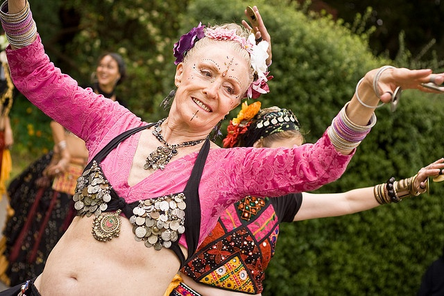 belly dancing ain't going to do it!!