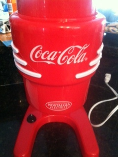coca cola slushy maker