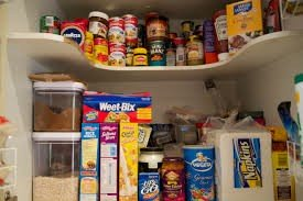 unhealthy pantry