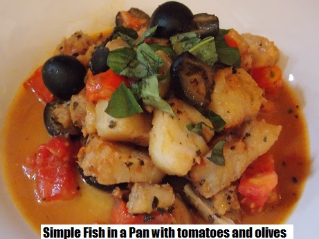 quick and easy fish in a pan