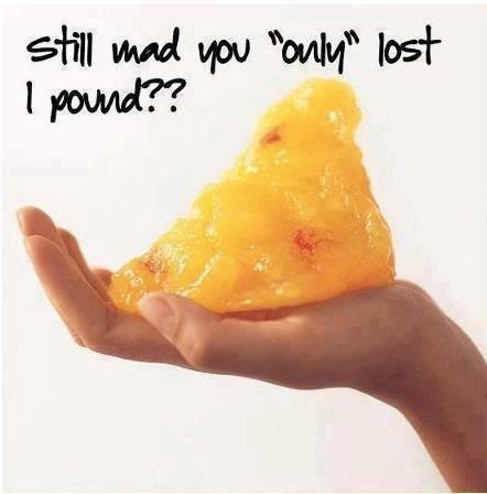 lost a pound